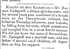 The Adams Sentinel and General Advertiser, 5 Dec 1860, p. 1