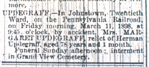 Johnstown Daily Tribune, 11 March 1898